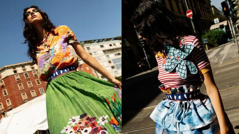 Vesela moda: Eklektična stilska križaljka dizajnerice Stelle Jean