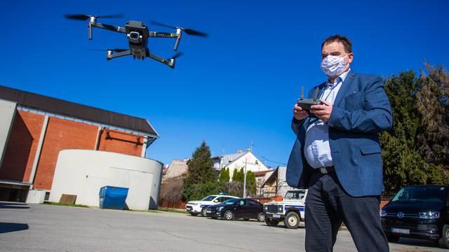 Lega u zraku: Osječane dronovi snimaju i mjere temperaturu