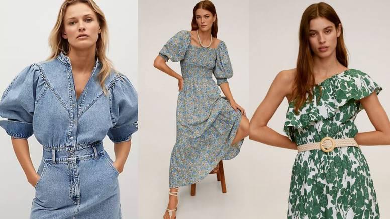 Puf rukavi: Hit na proljetnim haljinama u raznim bojama