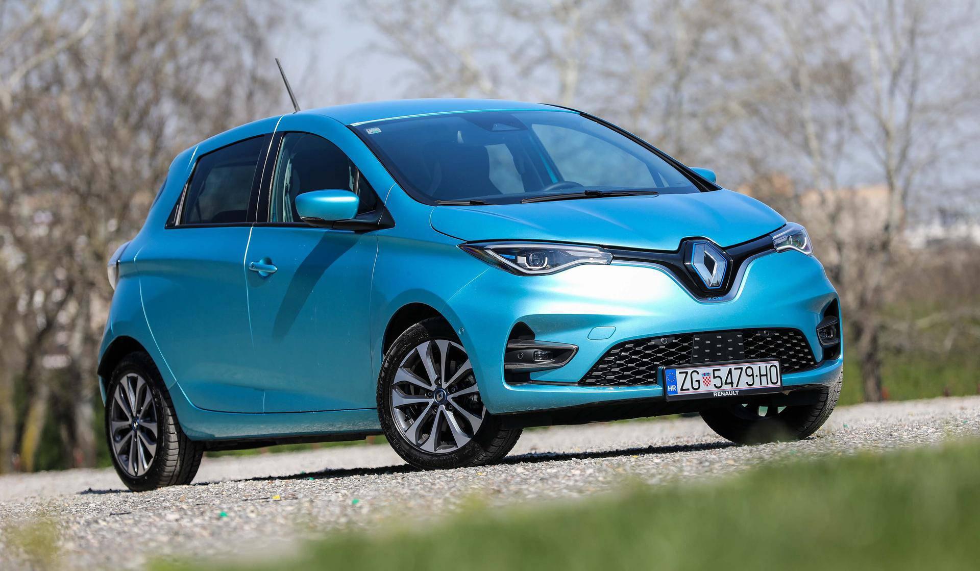 Gradski Renault Zoe je jedan od najboljih električnih automobila