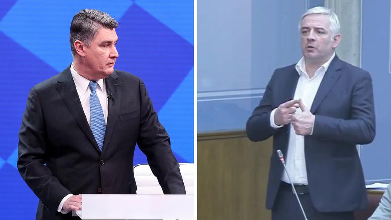 Zastupnik prosrpskog DF-a napao je Zorana Milanovića