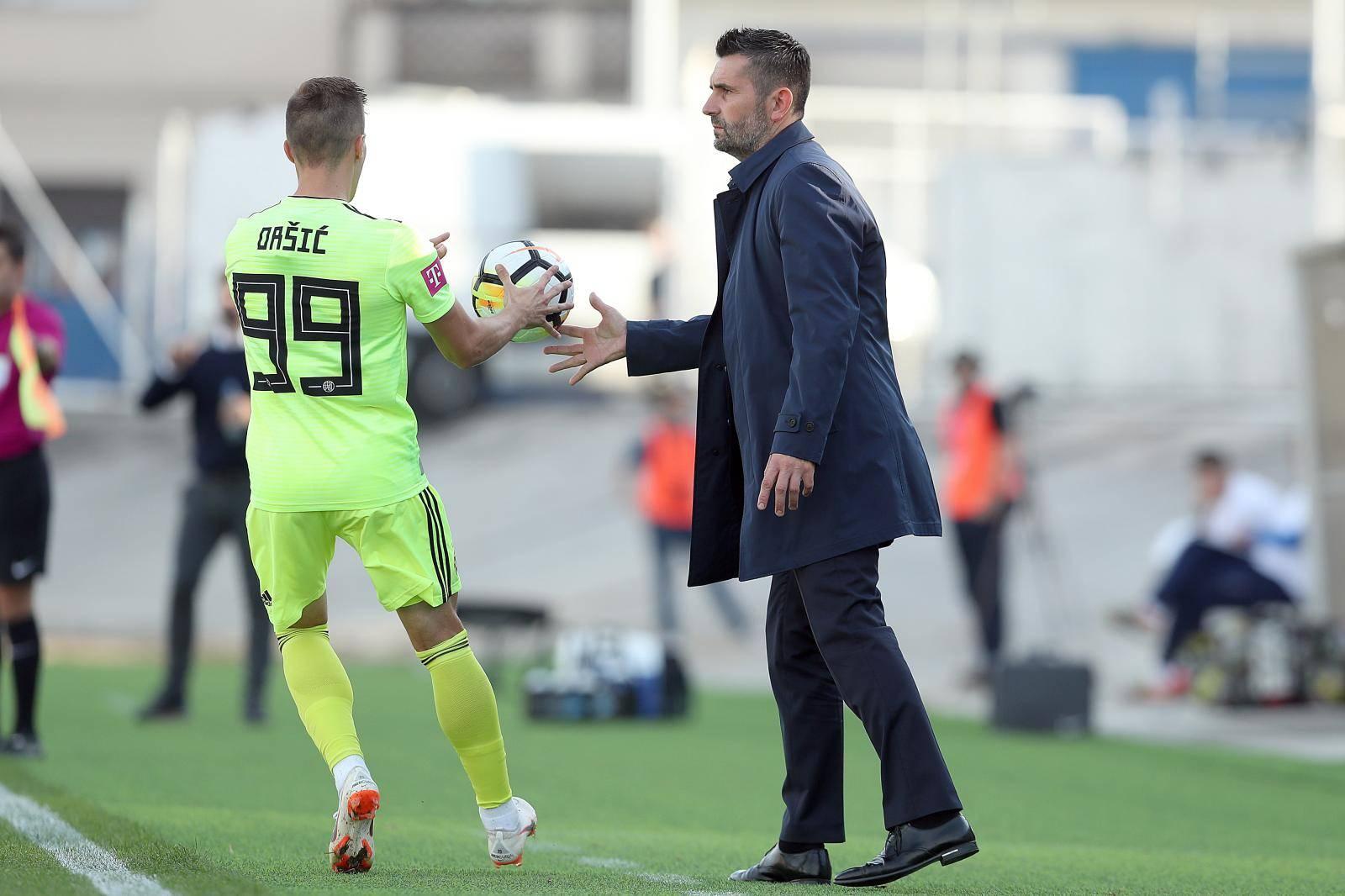 Zagreb: Hrvatski telekom Prva liga, 10. kolo, NK Rudeš - GNK Dinamo