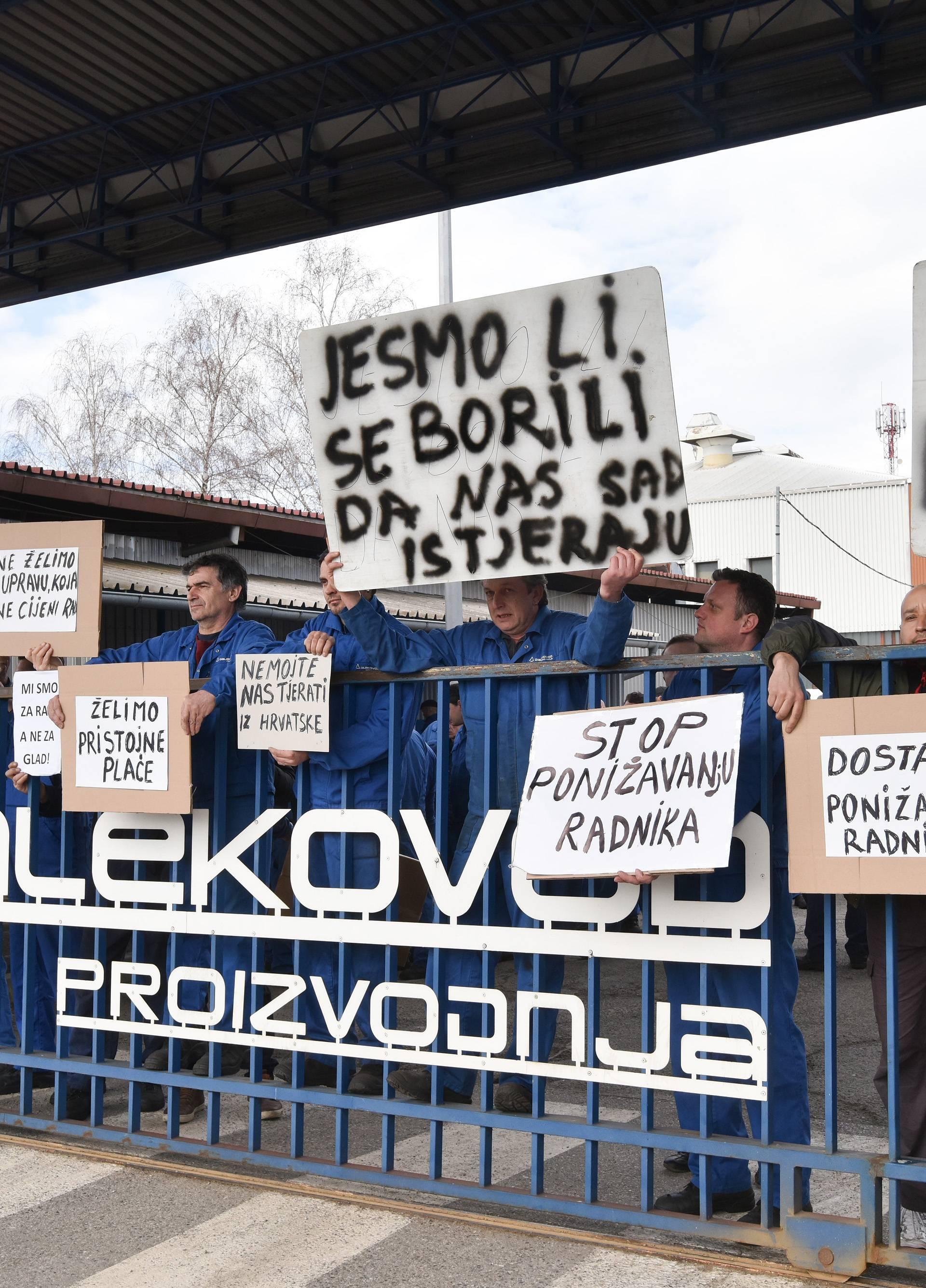 Štrajk u Dalekovodu: Uprava bi mogla ponuditi bolji ugovor...