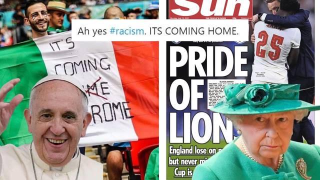 Vraća se kući? Da, rasizam se vraća! Twitter ismijava Engleze