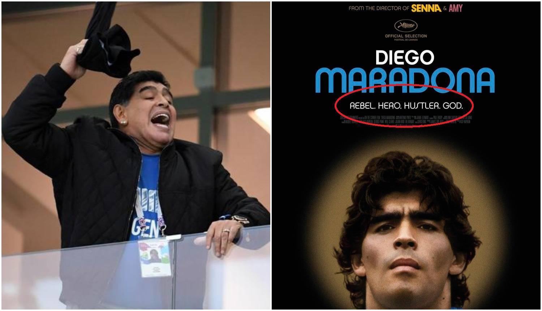 Maradona divljao zbog plakata o svom filmu: Nisam varalica!