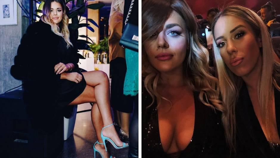 Svi su gledali Sandrin dekolte, a povela je i seksi prijateljicu...