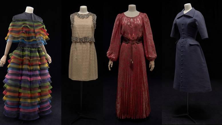 Izložba vintage haljina supruge velike zvijezde Gregoryja Pecka