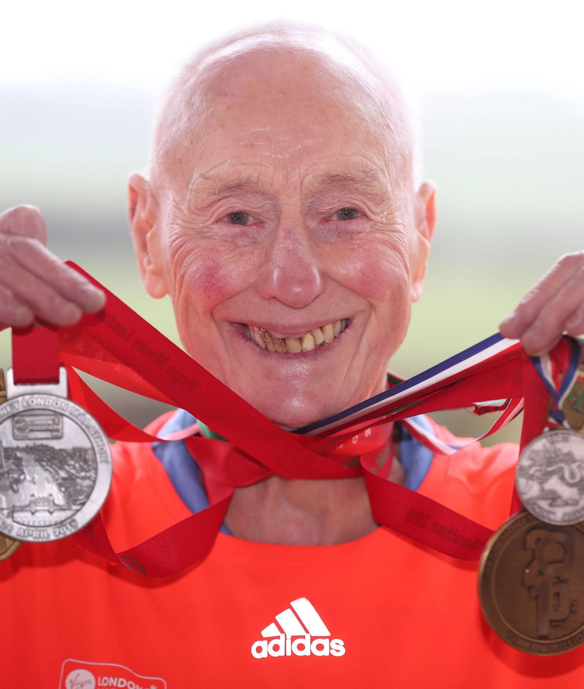 Ken Jones marathon runner