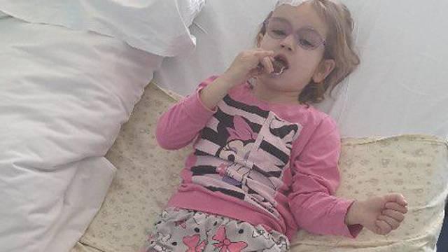 Nadia (3) je dobila lijek: 'Svi smo sretni, tražila je čokoladu'