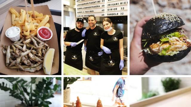 Tunaholic je novi fish bar u Poreču: Omastite brk burgerom od morskog psa i friganim giricama