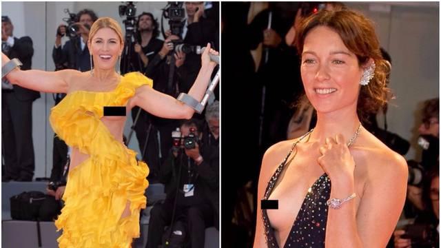 Izraelska manekenka pokazala je grudi u haljini Matije Vuice