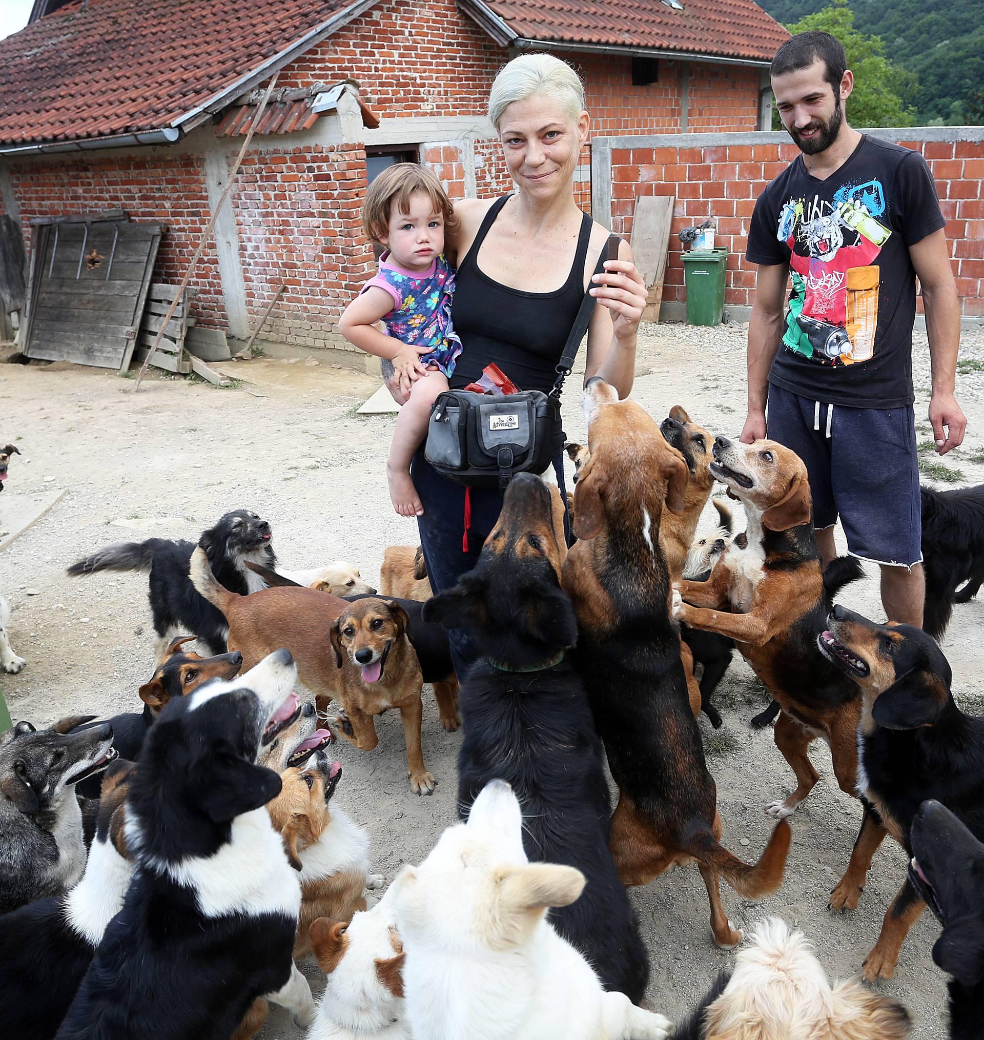 'Plan je bio imati 20 pasa, sad ih imam 102 i nije mi teško...'