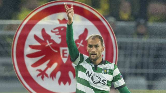 Bas DOST moves from Sporting Lisbon to Eintracht Frankfurt.