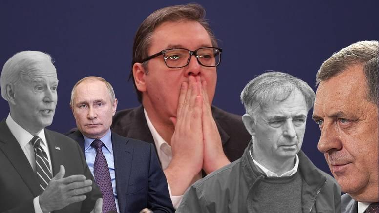 Teška vremena za Aleksandra Vučića: Kako mu propada plan za stvaranje 'srpskog sveta'