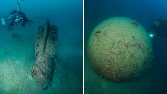 'Ronili smo i vidjeli propeler. To je bio torpedo. Napola zakopan u mulju. Blizu je bila i mina'