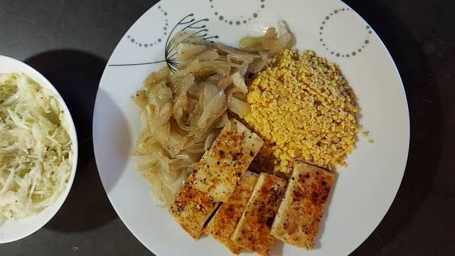 Tofu sa vučikom, zaboravljenom namirnicom koja obogaćuje jelo
