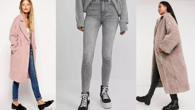 Super uz skinny jeans: Čizme, maksi kaputi i topla pletenina