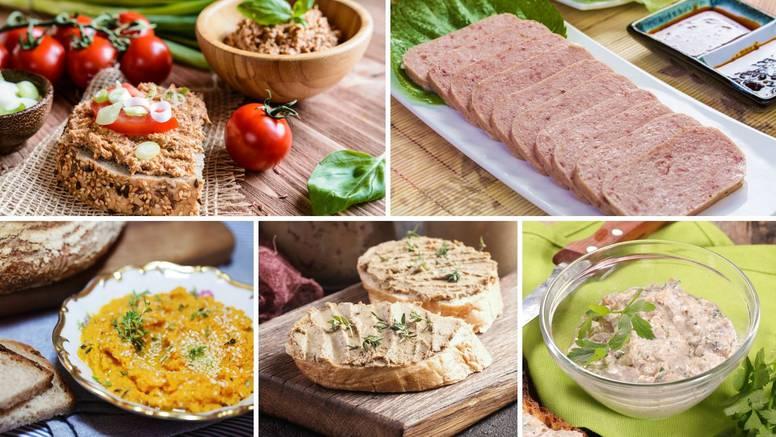 Recepti naših baka za namaze: Od čvaraka, graha, ribica... Tu je i recept za mesni narezak