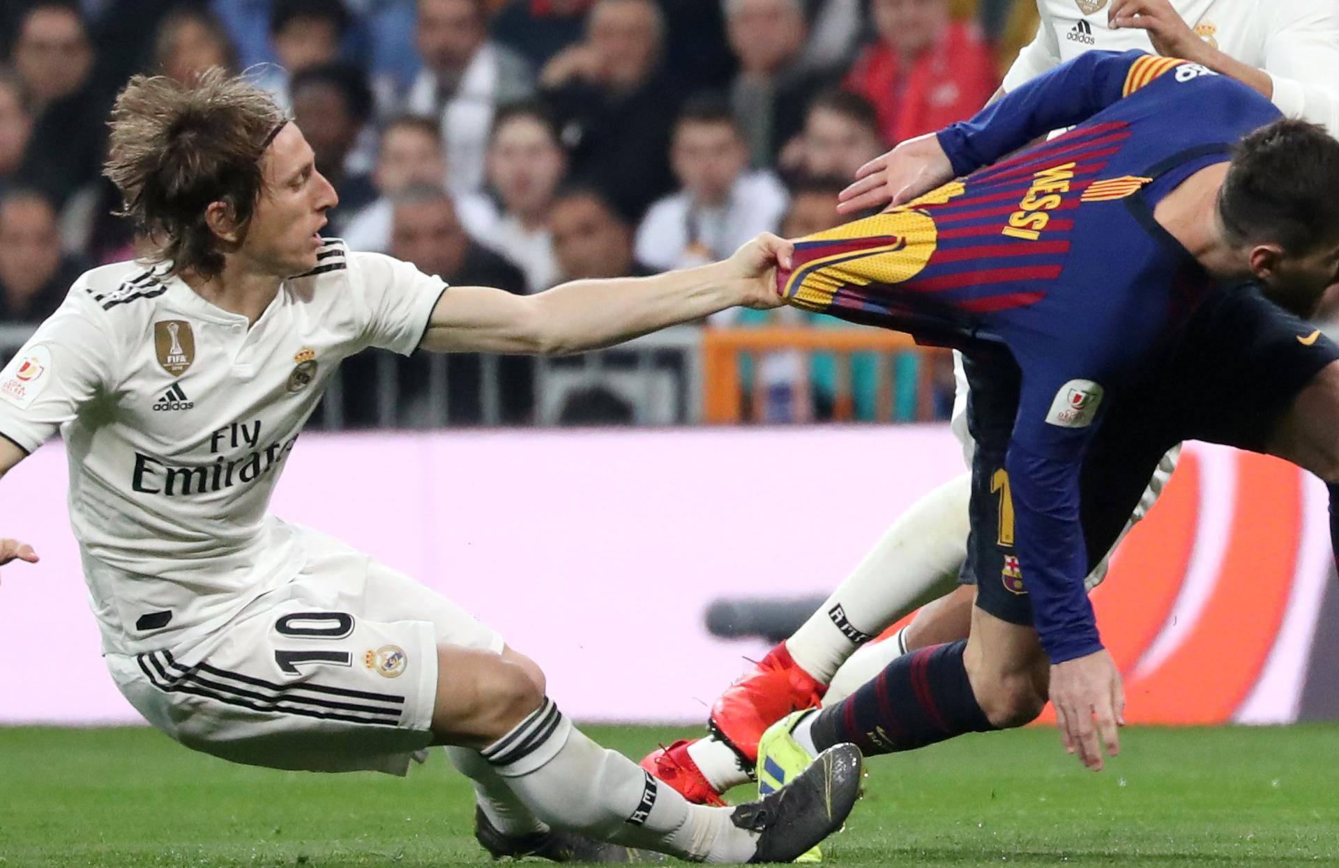 Copa del Rey - Semi Final Second Leg - Real Madrid v FC Barcelona