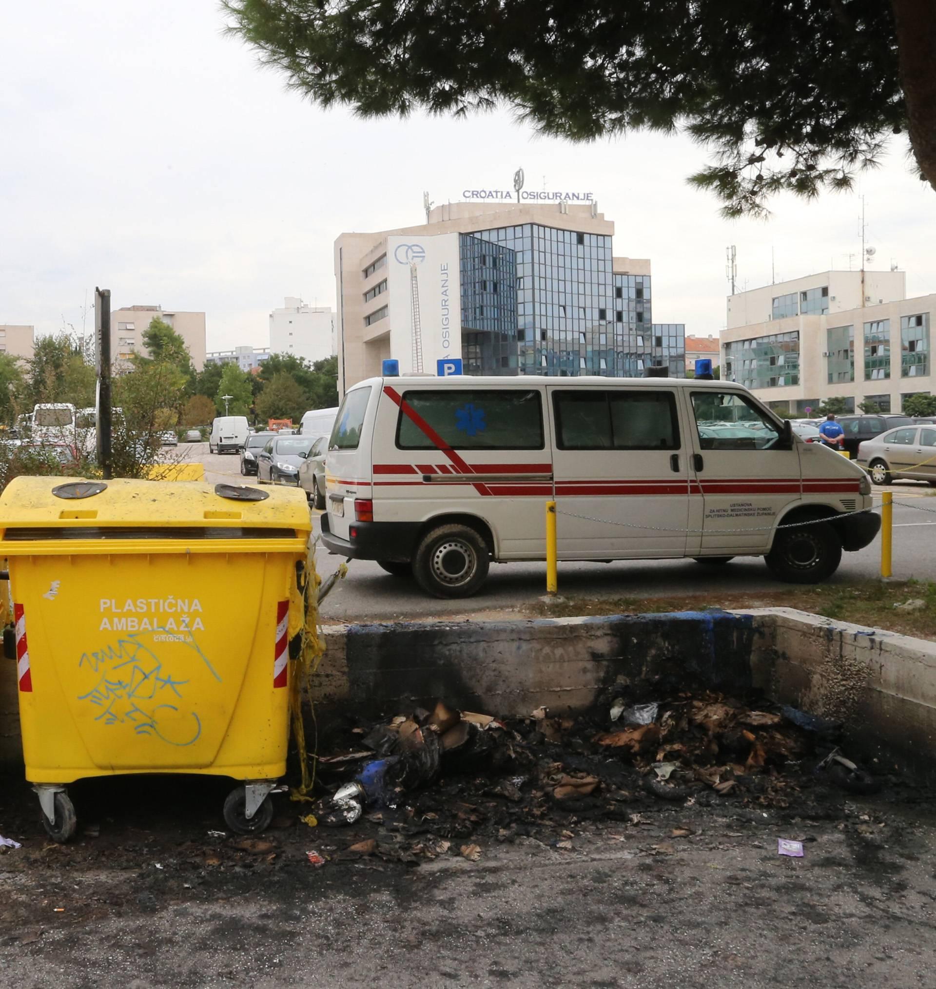 Što je ljudima? Na Badnjak u Splitu zapalili 24 kontejnera