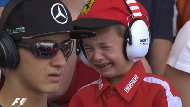 Hamilton slavio u Španjolskoj, mališan zaplakao zbog Kimija