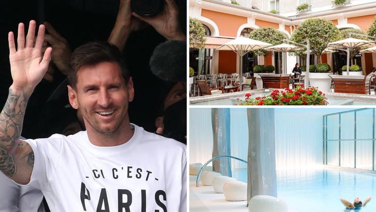 Parižani smjestili Messija u čudesan hotel: Noć košta od sedam pa do 112 tisuća kuna!