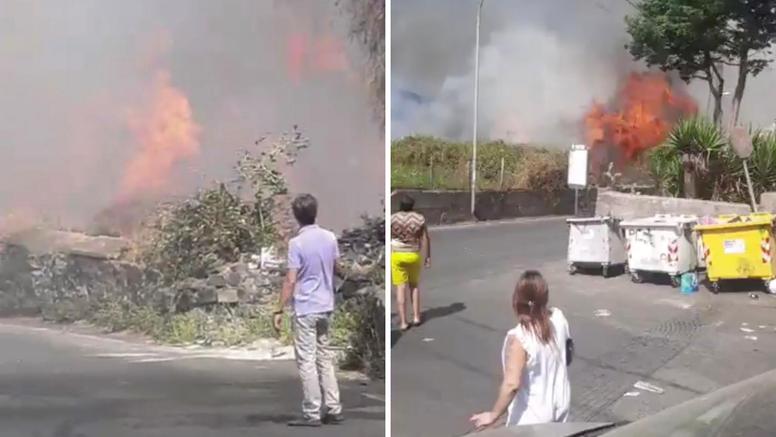 Na Siciliji proglasili 6 mjeseci izvanrednog stanja zbog požara
