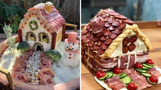 Koja ideja! Kućice ne rade od medenjaka, već od salame i sira