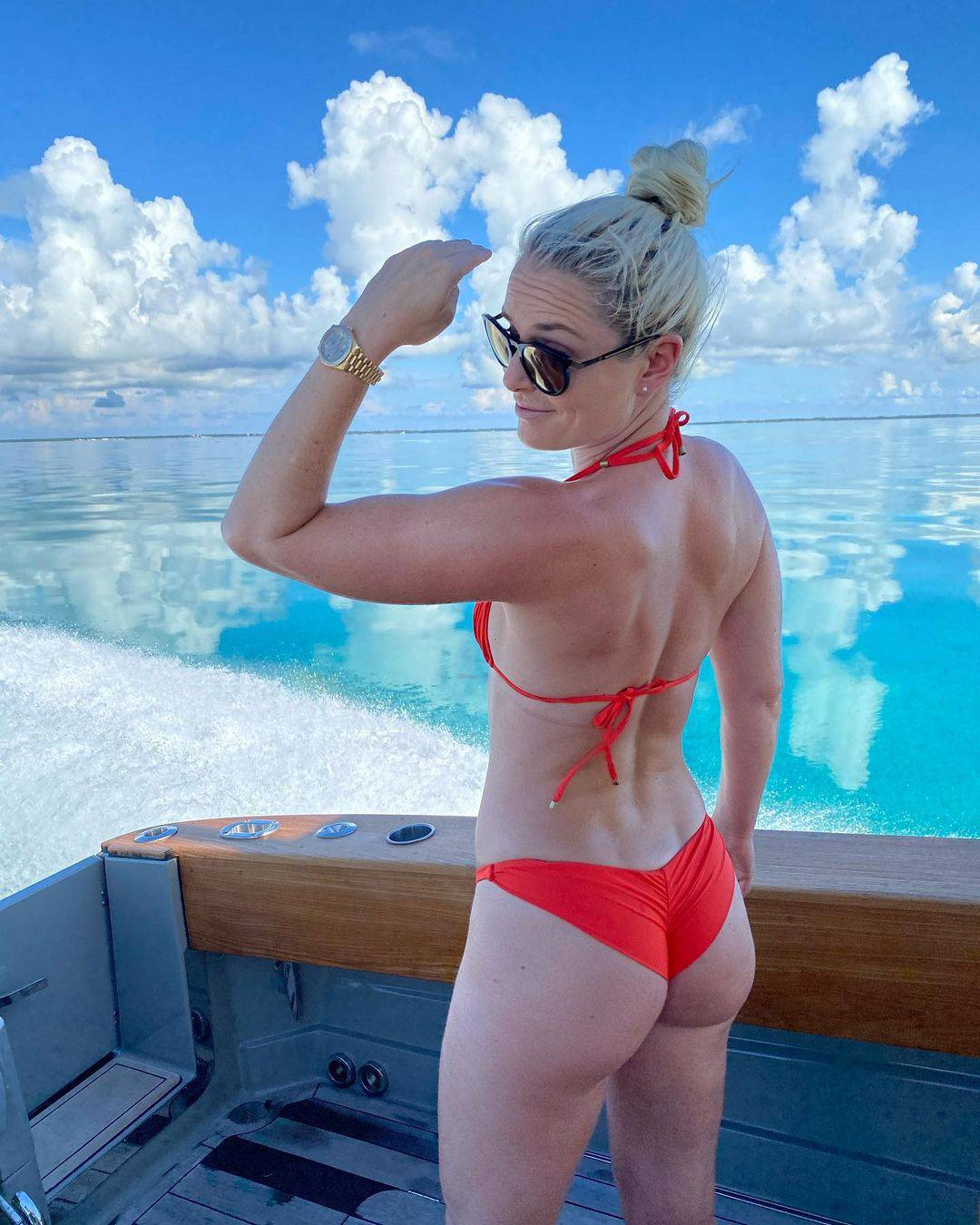 Lindsey Vonn sunča 'gluteus': Slavila  rođendan na Bahamima
