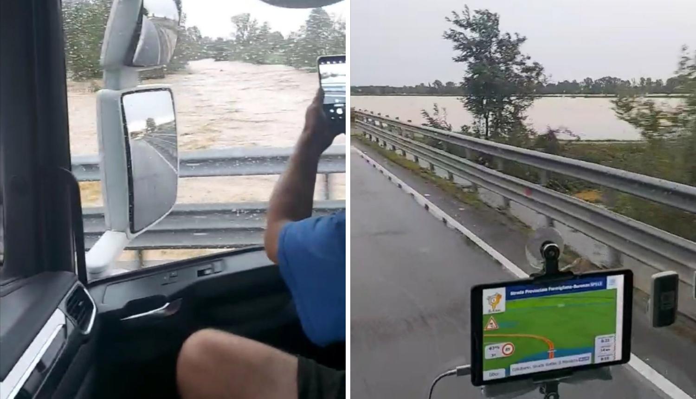 Vozač kamiona zapeo u Italiji: 'Sve je poplavljeno, policija je zatvorila ceste, nemam gdje'
