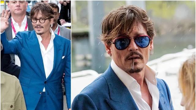 Više nije prljavi pirat: Depp se uvukao u odijelo i zalizao kosu