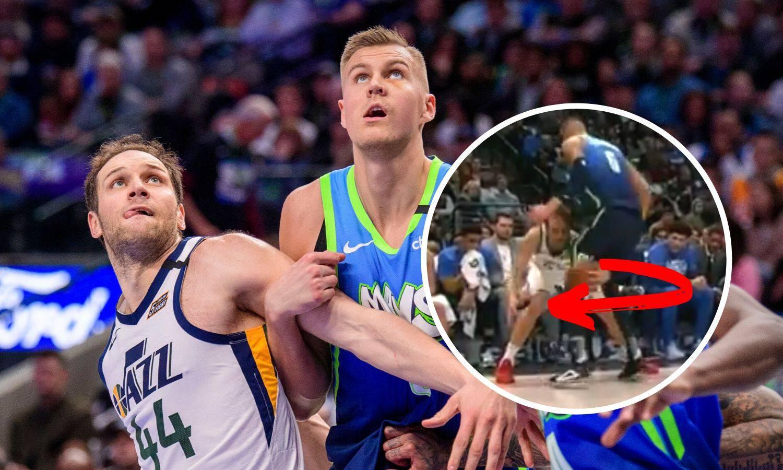 Babo se igra košarke! Zvijezda Dallasa nije znala gdje je lopta