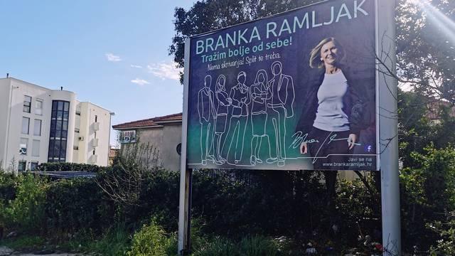 Branka Ramljak: 'Split ne treba jednu stranku, ekipu, ni rodbinu nego najbolje ljude za pravi rad'