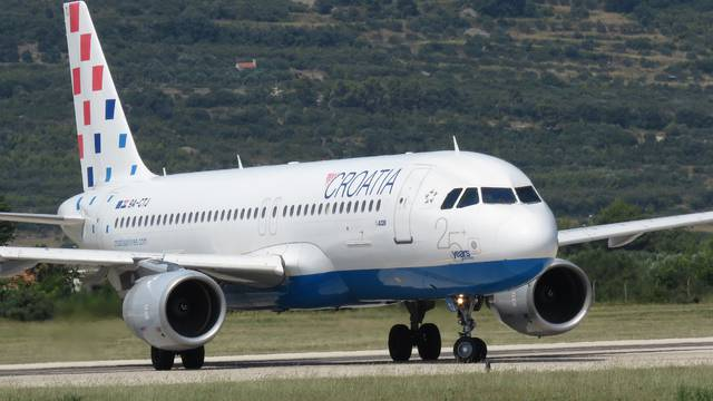 Airbus A320 Croatia Airlines