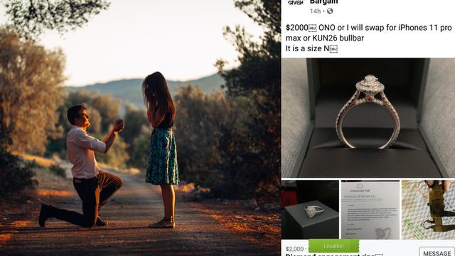 Pukla ljubav: Zaručnički prsten želi zamijeniti za iPhone ili odbojnik za automobil