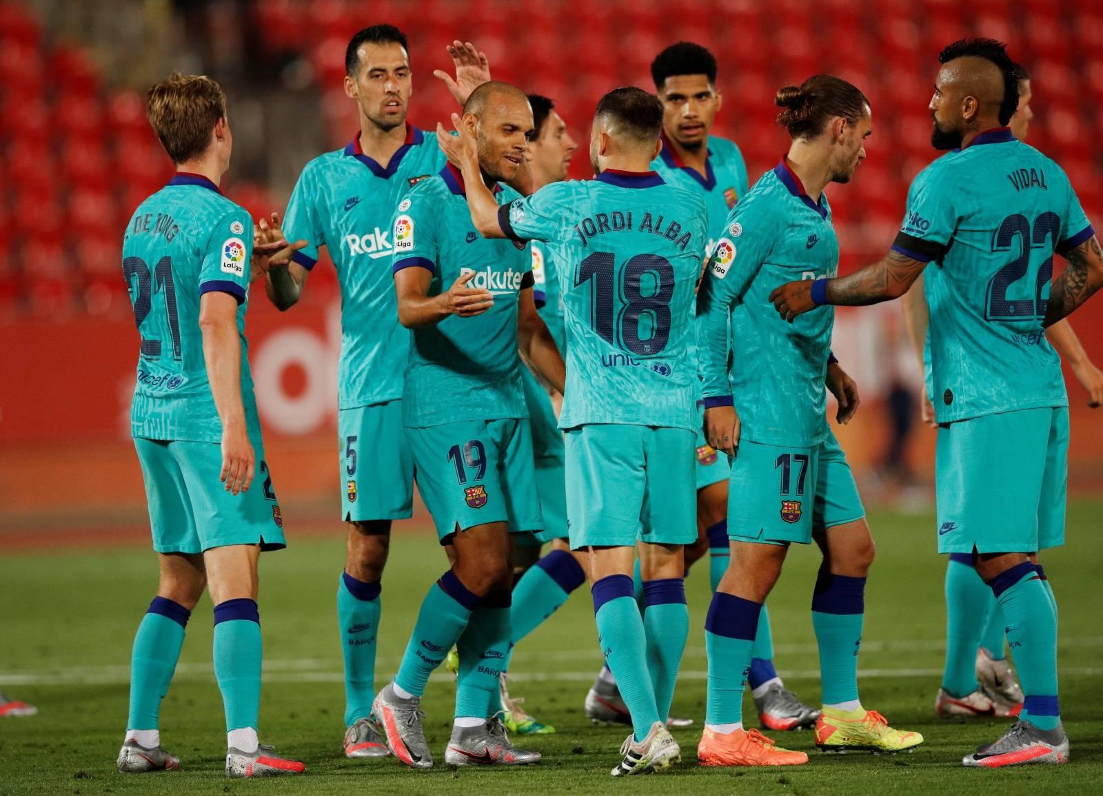 La Liga Santander - RCD Mallorca v FC Barcelona