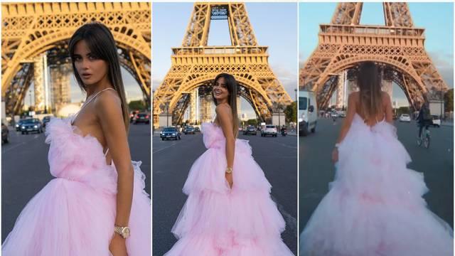 Djevojka Ćalete-Cara napravila pomutnju u Parizu: U raskošnoj haljini trčala po prometnoj cesti
