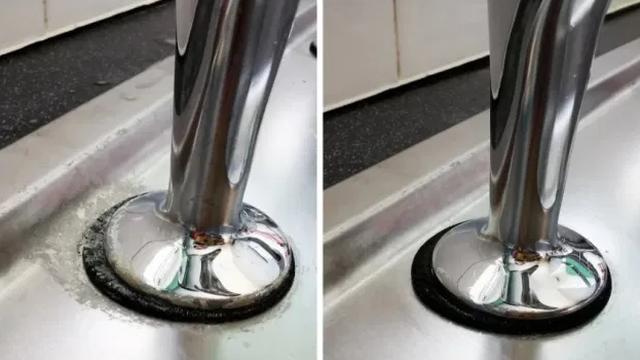 Antibakterijskim sapunom za ruke slučajno očistila umivaonik - rezultati  je ugodno iznenadili