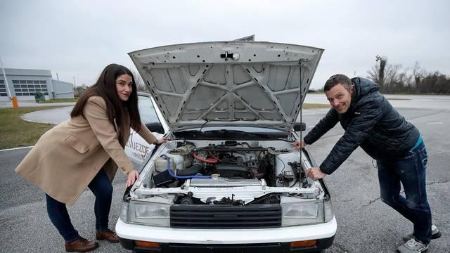 Obožavateljica osvojila drift sa Šebaljem: 'Položila sam iz pete, ali stvarno super znam voziti...'