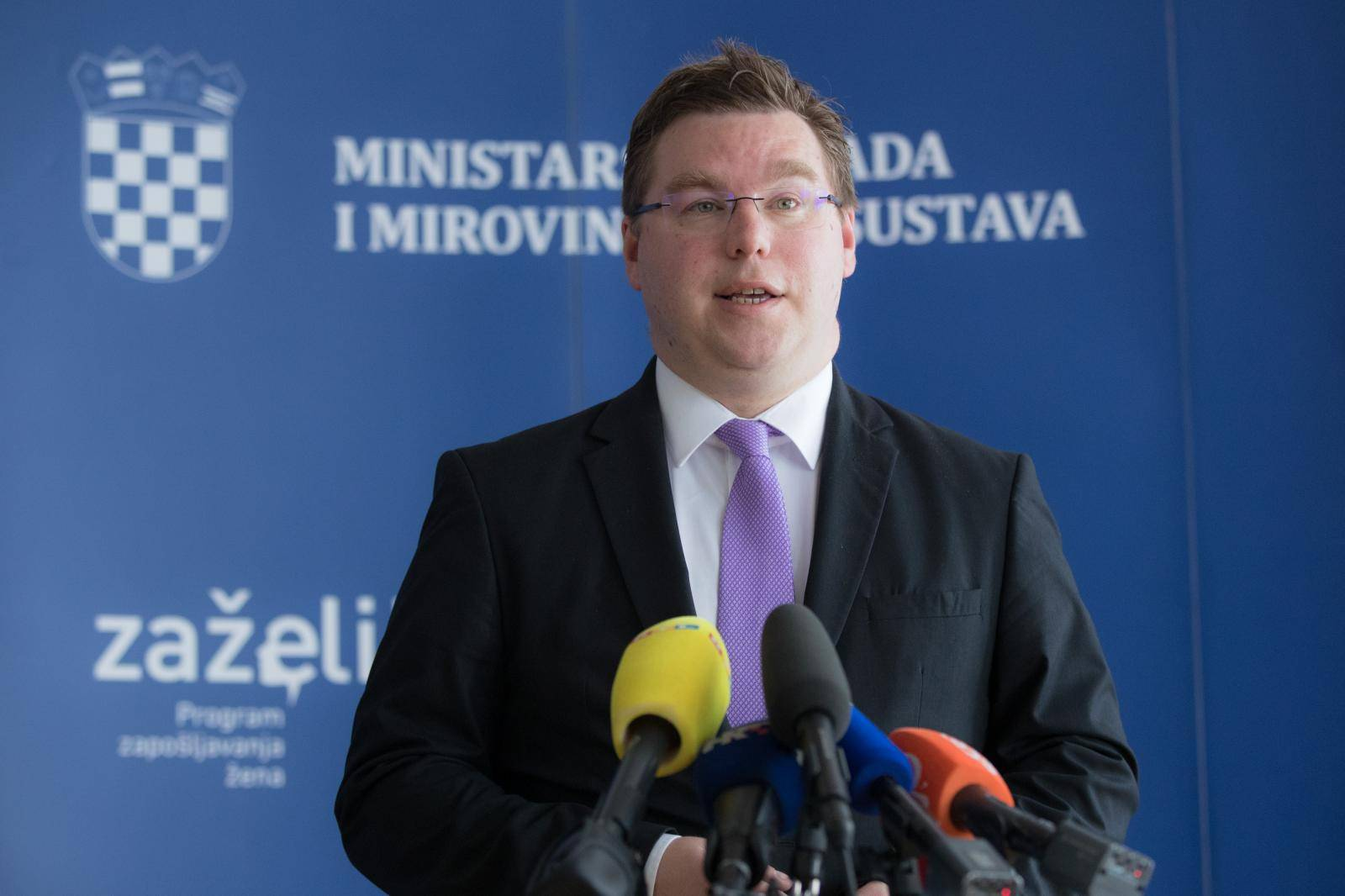 Zagreb: Ministar Pavić o mirovinama i mjerama zapošljavanja