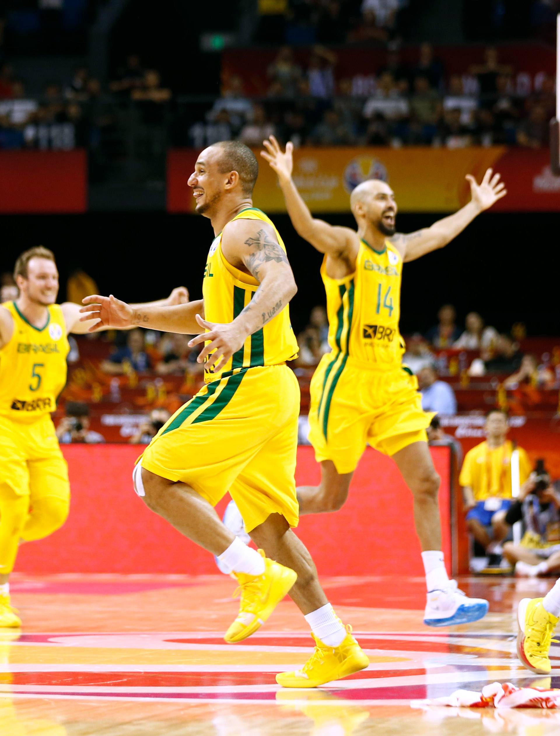 Basketball - FIBA World Cup - First Round - Group F - Brazil v Greece