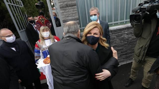 Lavrova kod ambasade dočekali Bandić i bivša predsjednica