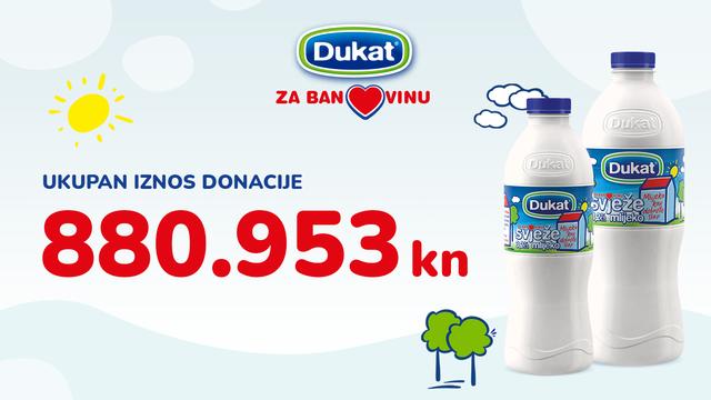 Dukat osigurao gotovo 900 tisuća kuna za pomoć stanovnicima Banovine