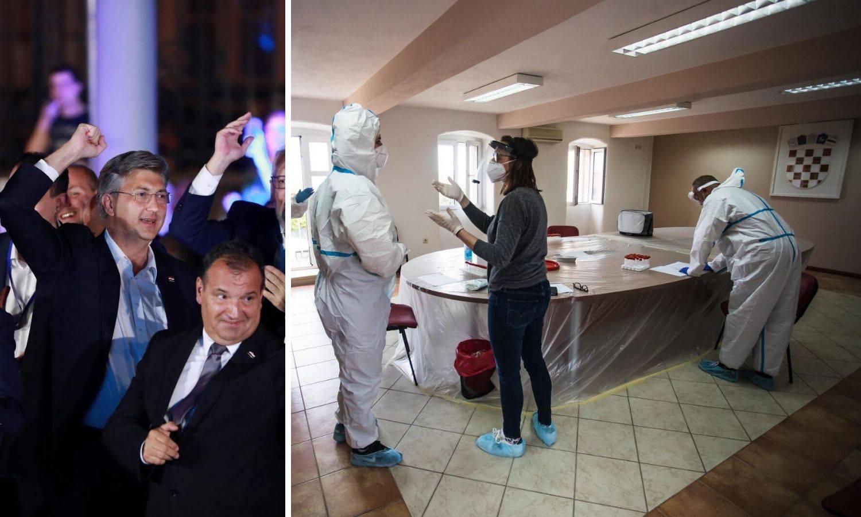 Stožer se boji svadbi, iako je veća gužva bila u izbornoj noći