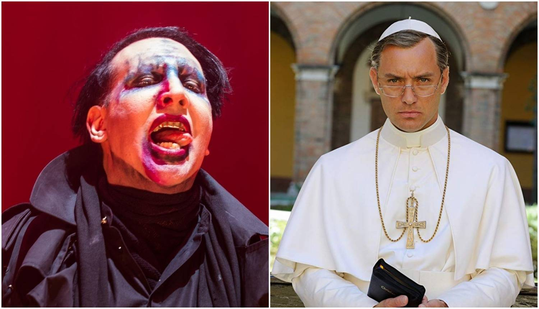 Marilyn Manson će glumiti u nastavku serije 'Mladi papa'