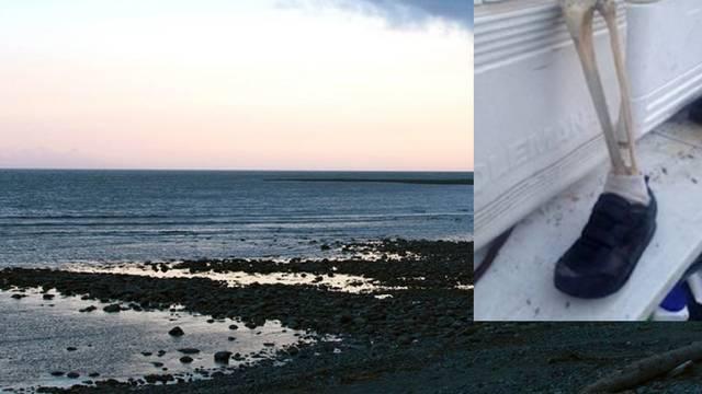 Jezivi prizori s obale: Plima je donijela nogu, i to već 13. put!
