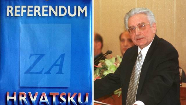 Referendum o samostalnosti: Prije 30 godina odlučili smo se na izlazak iz Jugoslavije