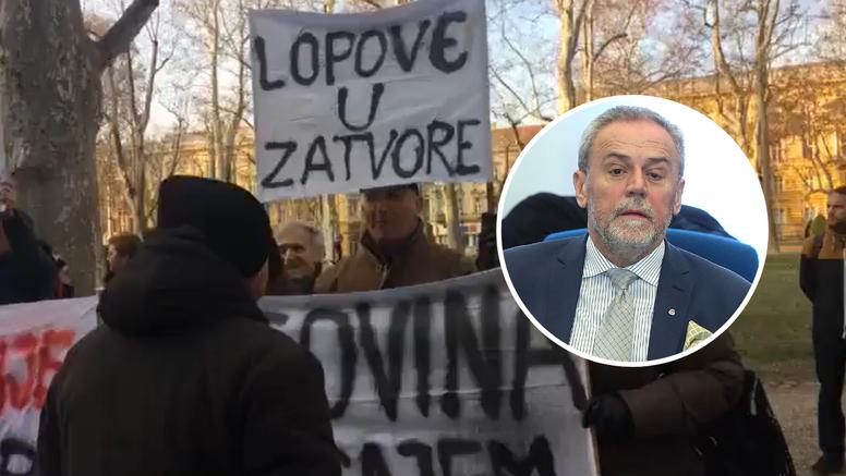 Gotovo ročište: Milana Bandića izveli sa suda na stražnja vrata