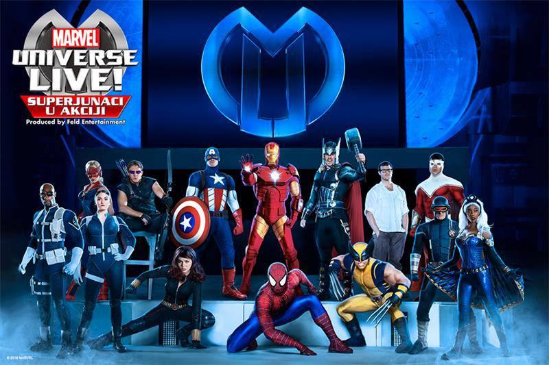 Sretni dobitnici: Evo tko sve ide na 'Marvel Universe Live'