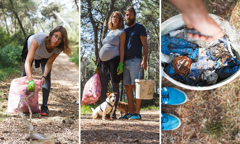 Mlada trudnica: 'Uskoro ću roditi, ali i dalje čistim okoliš'